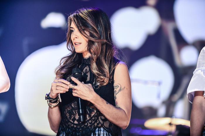 Kany Garcia ensayos Premios Billboard 2016