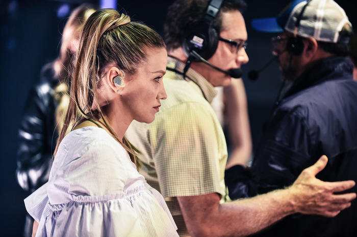 Fanny Lu ensayos Premios Billboard 2016