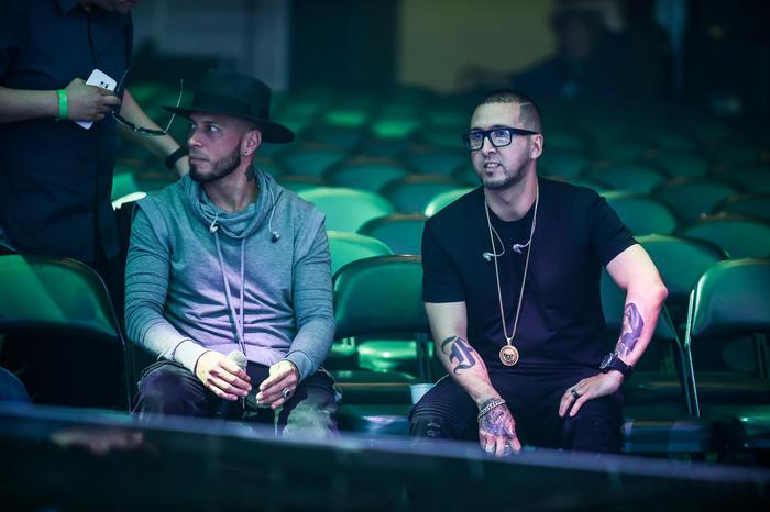 Alexis y Fido ensayos Premios Billboard 2016