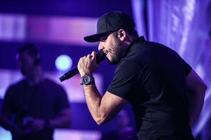 Gerardo Ortiz ensayos Premios Billboard 2016