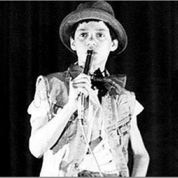 Marc Anthony cuando tenía 12 años