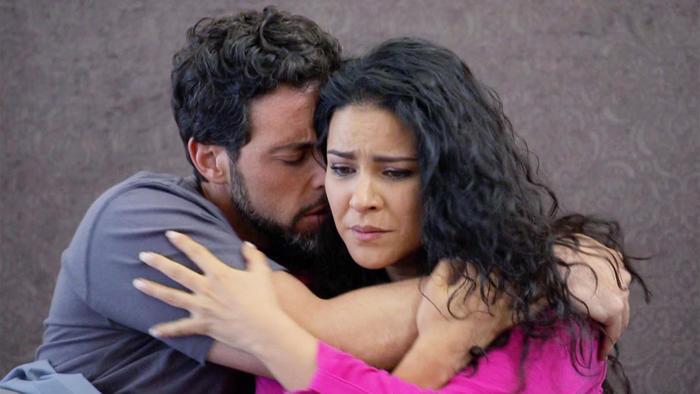 Marcelo Dóriga, Litzy, llorando, Señora Acero 3 La Coyote