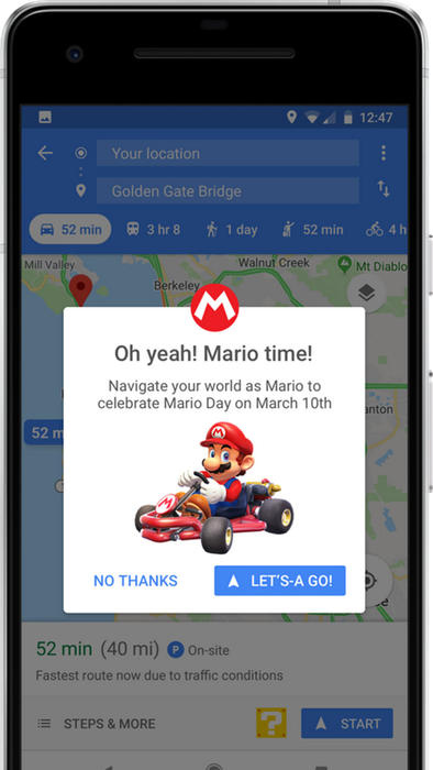 Mario-maps