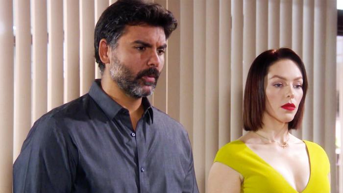 Erika de la Rosa y Jorge Luis Pila reciben amenazas del capo en Eva la Trailera