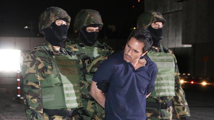 Mauricio Ochamann arrestado en El Chema