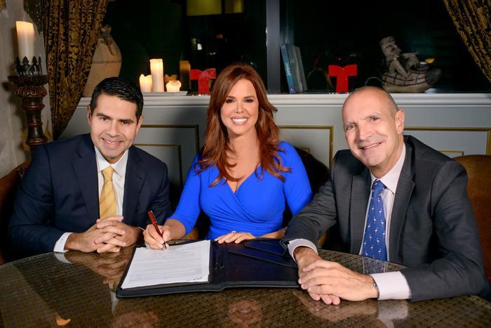 Maria Celeste renueva su contrato con Telemundo