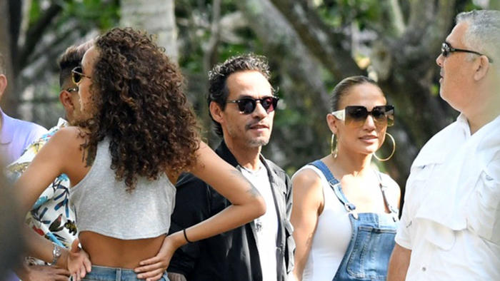 Marc Anthony y Jennifer Lopez