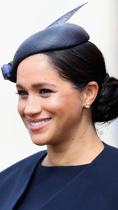 Meghan Markle en el desfile Trooping the Colour en Londres durante junio de 2019