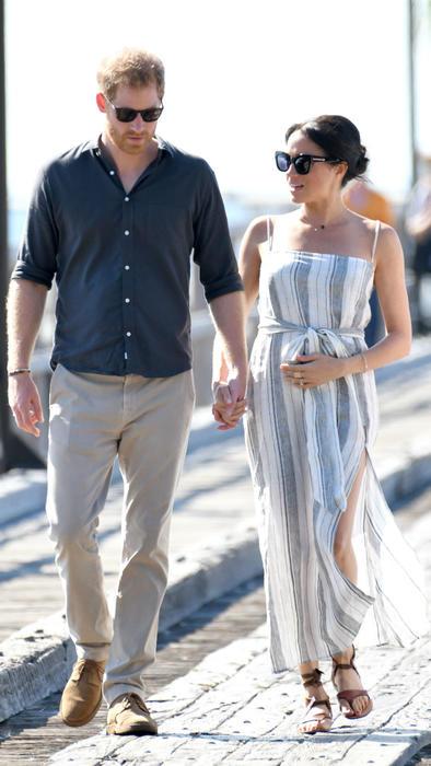 Meghan Markle y el príncipe Harry en su tour por Australia