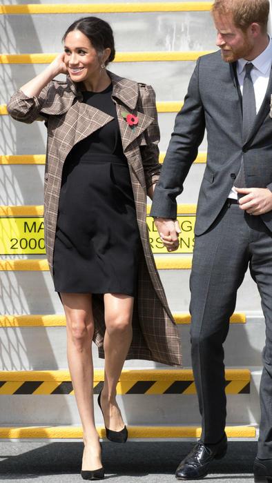 Meghan Markle embarazada y el príncipe Harry en Nueva Zelanda