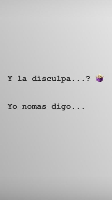 Sofía Castro escribió un mensaje aparentemente dirigido a Enrique Peña Nieto en Instagram