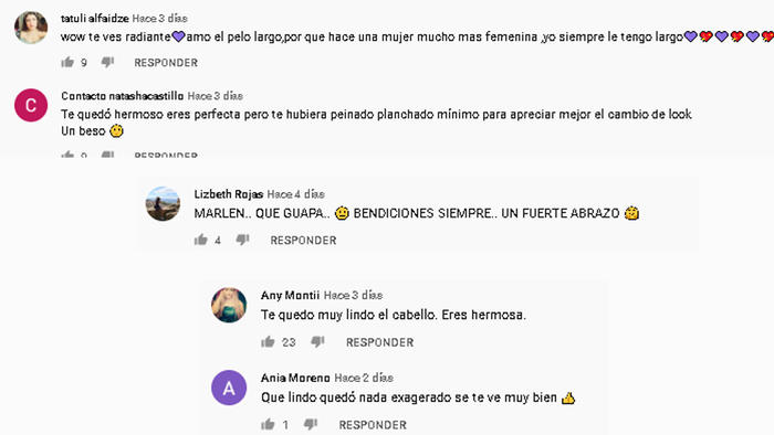 Mensajes para Marlene Favela