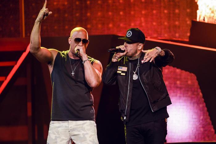 """Nicky Jam  ft. Vin Diesel – """"El ganador""""."""