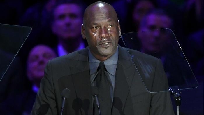 Michael Jordan en homenaje a Kobe Bryant