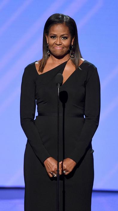 Michelle Obama en el escenario de los premios ESPY 2017