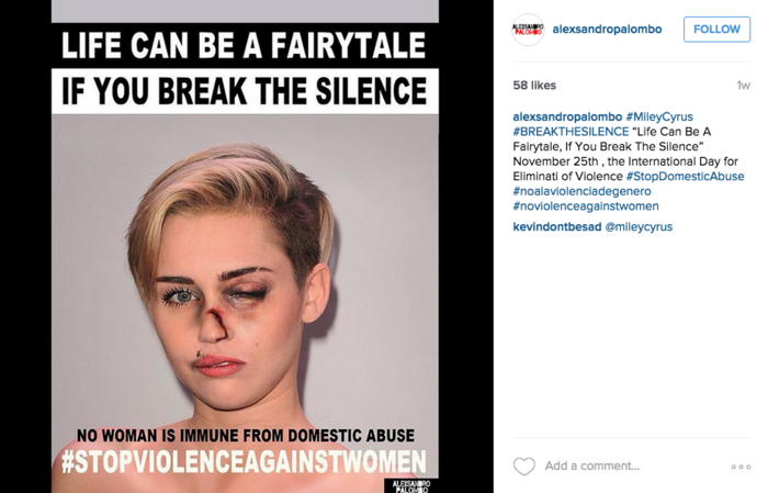 Miley Cyrus luce maltratada con Photoshop
