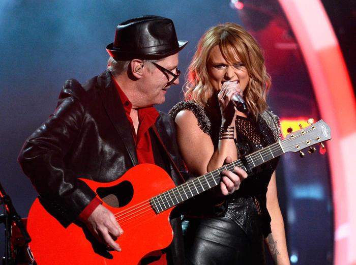 Miranda Lambert en los premios Grammy 2015