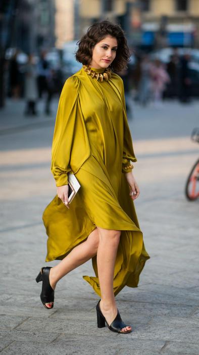 Modelo en la New York Fashion Week 2019