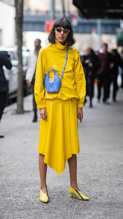 Modelo en la Fashion Week