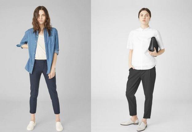 modelos en pantalones