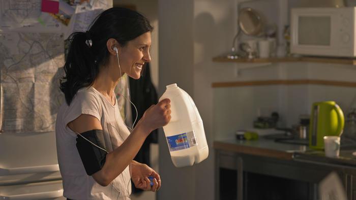 Consumo alto de leche