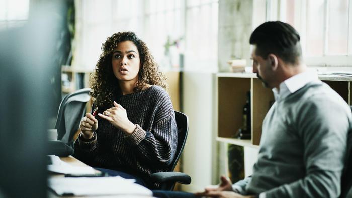 Mujeres y hombres en el trabajo