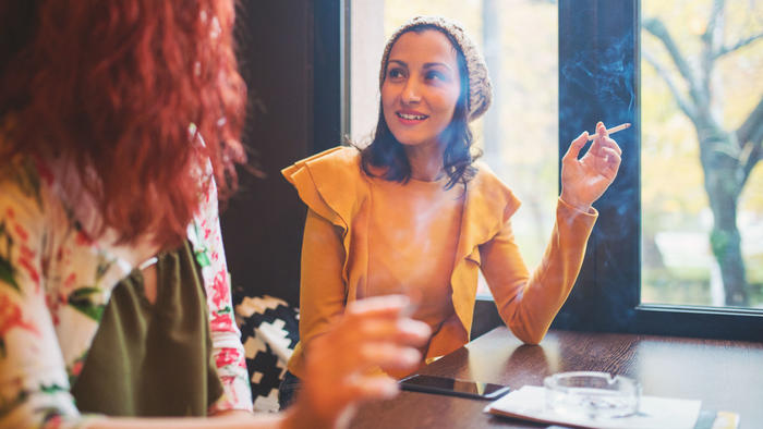 Mujeres fumadoras