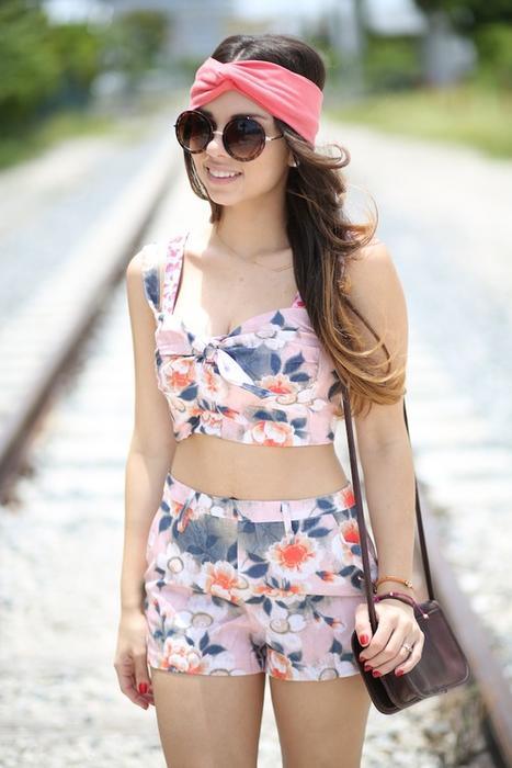 Daniela Ramirez look de primavera
