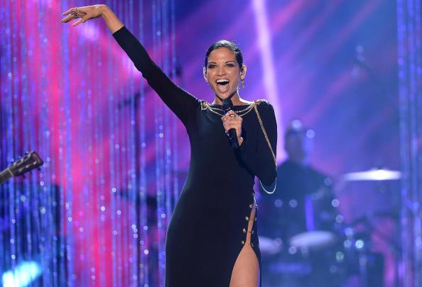 Natalia Jiménez en los Premios Tu Mundo - 2014
