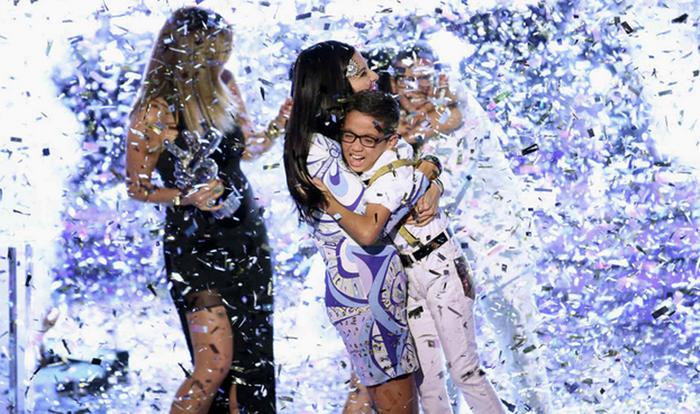 Natalia Jiménez y Jonael ganadores de La Voz Kids 2015
