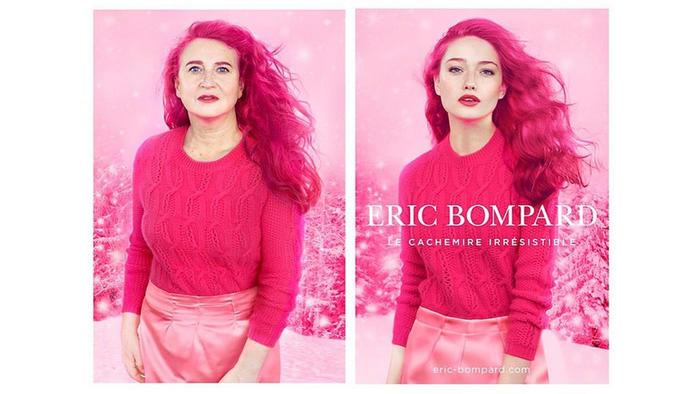 Fotógrafa, Nathalie Croquet, publica parodia de anuncios de moda de Eric Bompard