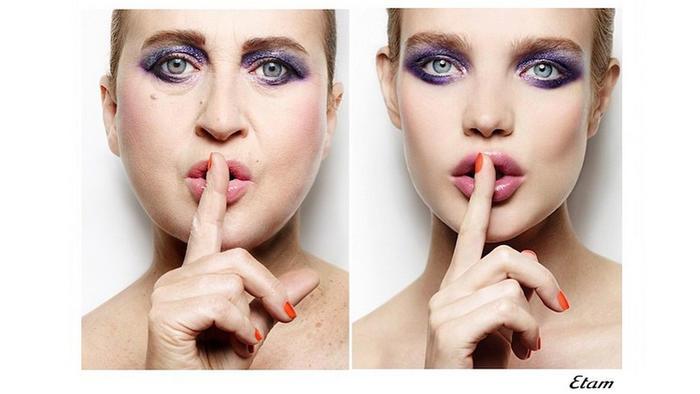 Fotógrafa, Nathalie Croquet, publica parodia de anuncios de moda de Etam