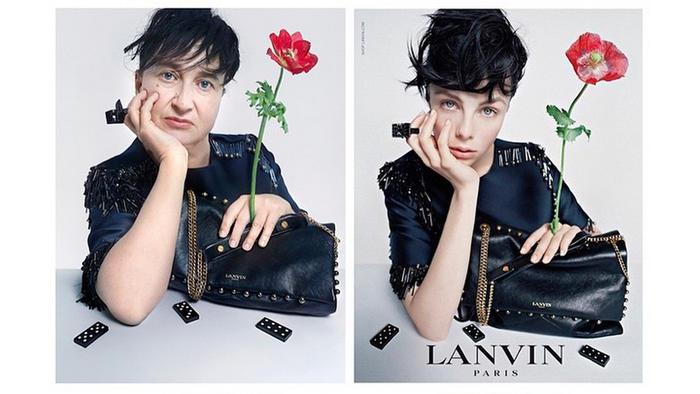 Fotógrafa, Nathalie Croquet, publica parodia de anuncios de moda de Lanvin