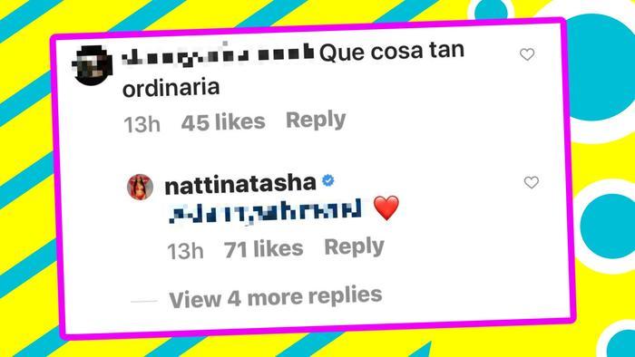 Natti Natasha comentarios 1