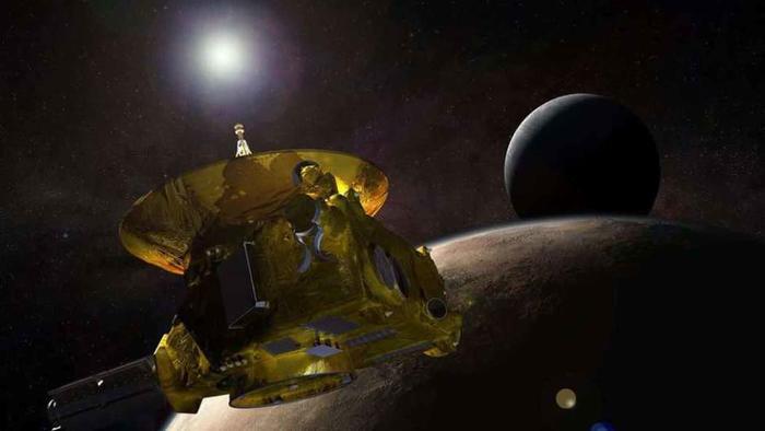 New Horizons fue lanzada en 2006.