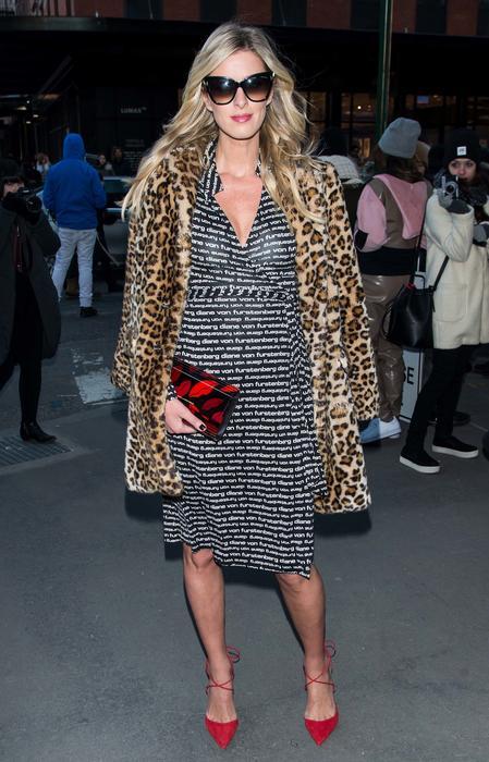 Nicky Hilton en la semana de la moda de Nueva York