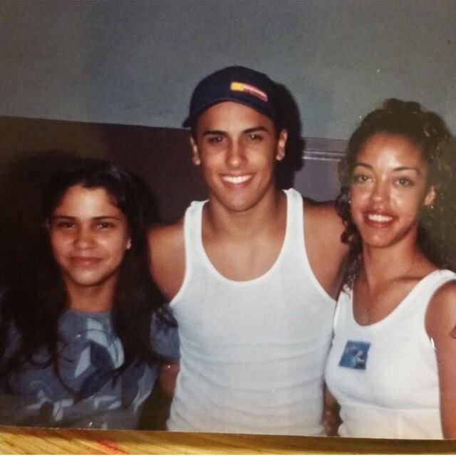 Nicky Jam cuando era joven