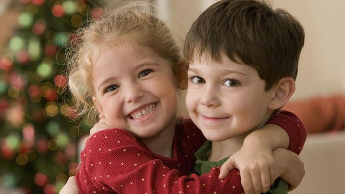 Niños en fiestas familiares