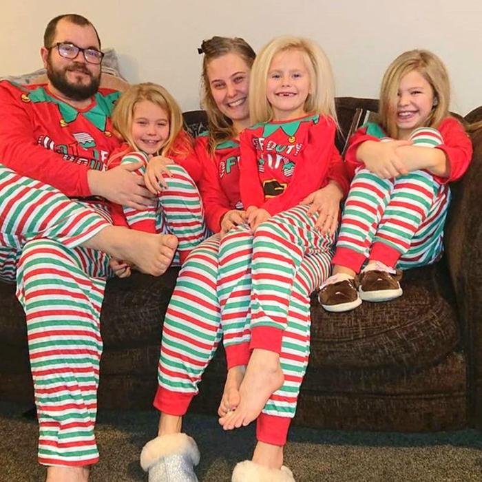 Wynter Seymour y su familia