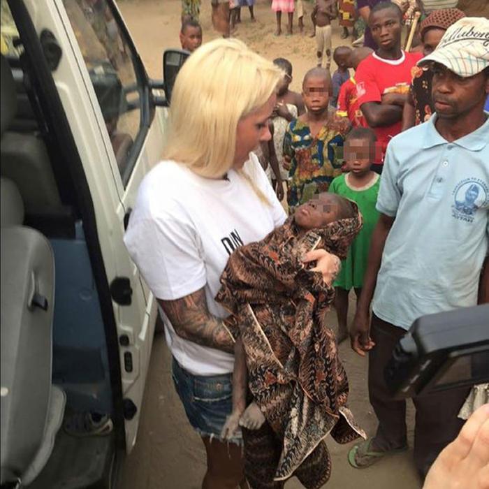 Niño acusado de ser brujo es rescatado en Nigeria