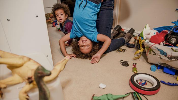 Desorden en el hogar
