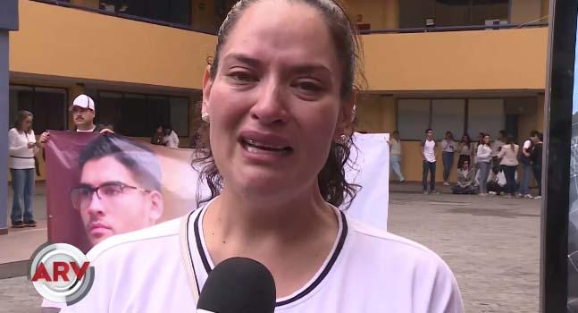 Norelia Hernández, la madre de Norberto Ronquillo, envía mensaje a los secuestradores