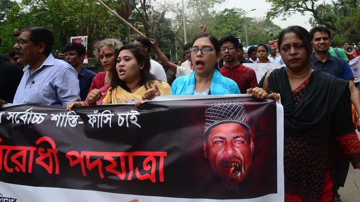 protest against the murder of girl student in dhaka