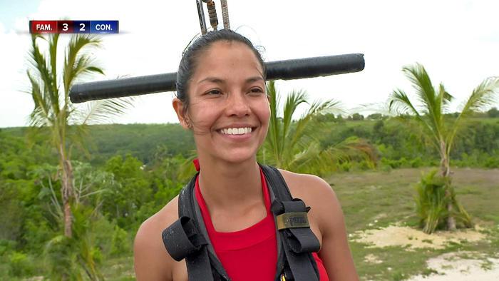 Olimpia sonríe antes de su último circuito
