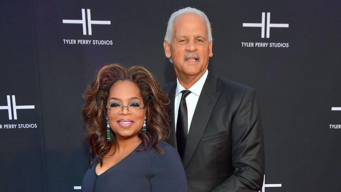 Oprah Winfrey y Stedman Graham, octubre 2019