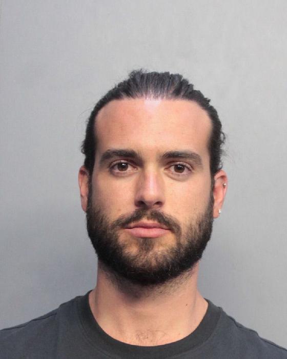 Pablo Lyle y su foto de la ficha de arresto en Miami