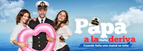 Papa a la Deriva (Dad Adrift) Listing Poster