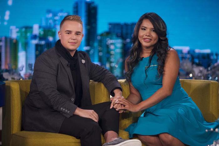Diane Rodríguez y Fernando Machado