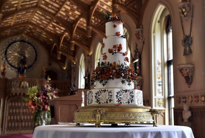 pastel de bodas de Eugenie de York