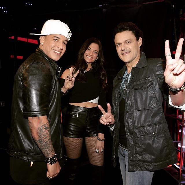 Pedro Fernández, Daddy Yankee, y Natalia Jimenez La Voz Kids 3
